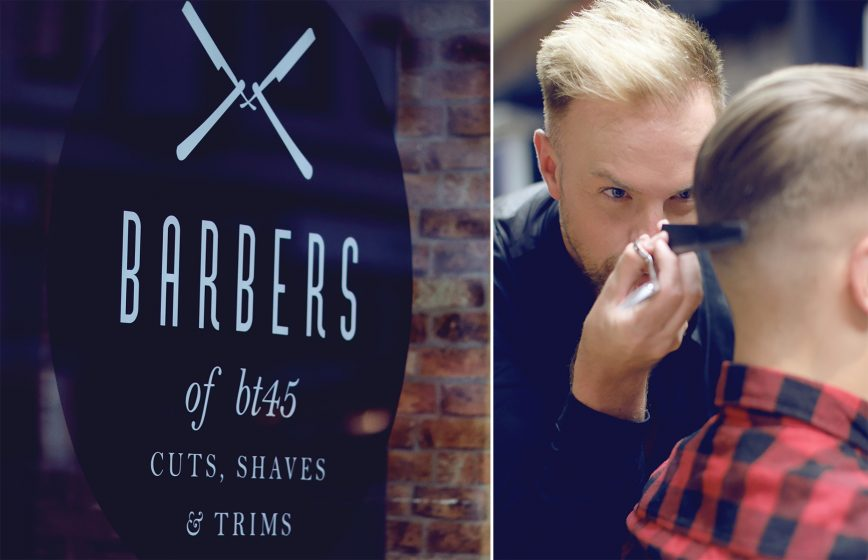 Commercial photography Barbers of BT45 Barber shop Magherafelt